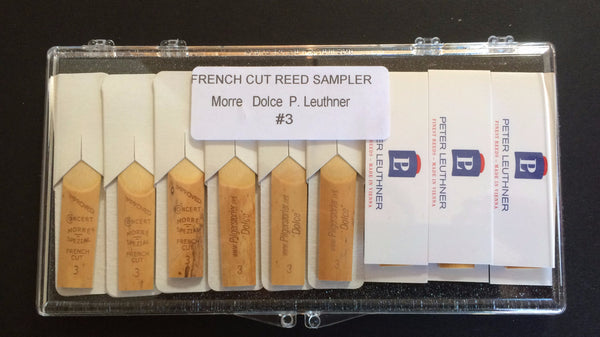 French Cut Reed Sample Pack