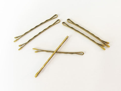 Bobby Pins - Standard Size - Gold/Blonde