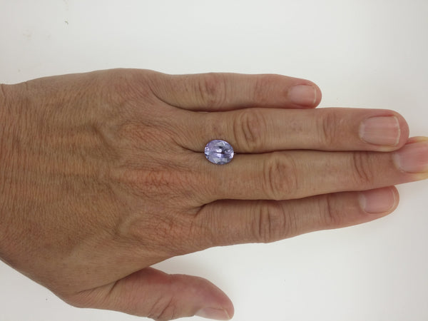 3.30ct Lavender Spinel Precision Cut by Rogerio Graca