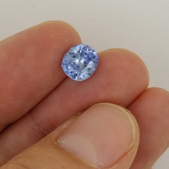 Ceylon Blue Sapphire Cushion Shape Precision Cut Loose Gemstone