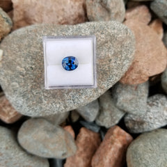 Blue Sapphire 1.93ct Short Oval