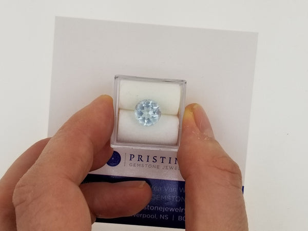Aquamarine 2.32cts Round March Birthstone