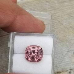 Cushion Shape Rose Colored Spinel 4.24cts