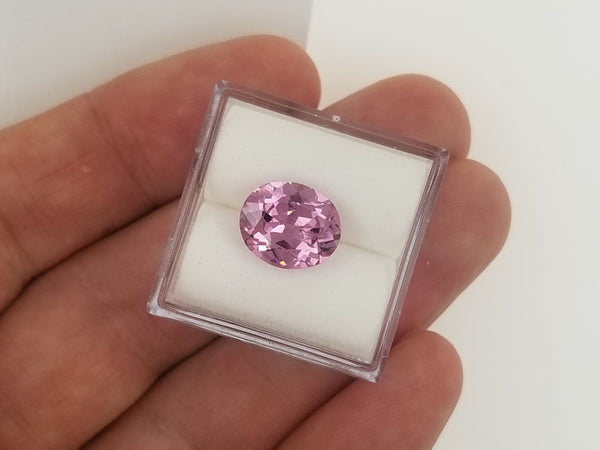 Rose Pink Spinel 3.06cts Oval Wholesale Loose Gemstone