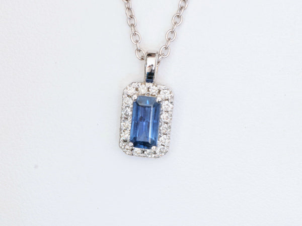 Final Payment on Custom Order for Emerald Cut Blue Sapphire Jewelry Set