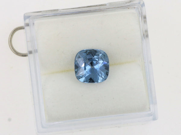 Cushion Blue Sapphire Precision Cut 7mm