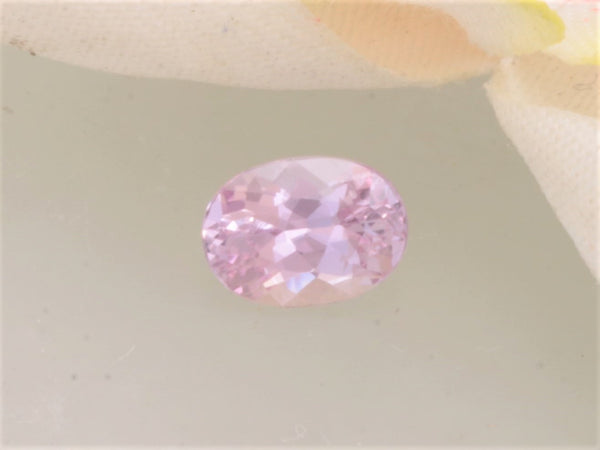 Natural Pink Sapphire 7.1 x 5.2 MM Oval Precision Cut Gemstone