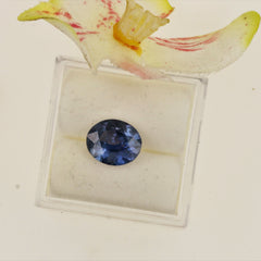 oval color change sapphire