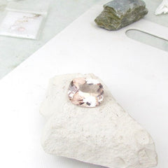 natural large morganite