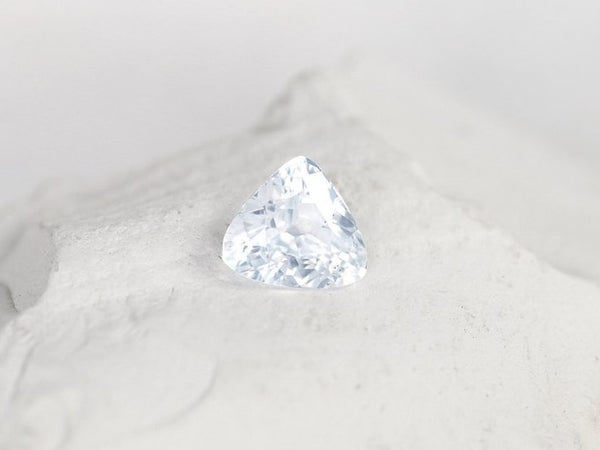 White Sapphire 2.60 Carats Triangle
