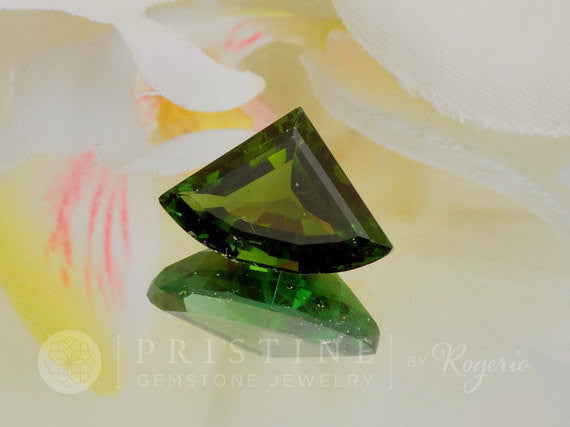 Green Tourmaline October Birthstone Loose Gemstone for Pendant