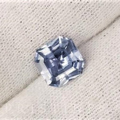 Modified Radiant Cut Natural Blue Sapphire 7.5 MM September Birthstone