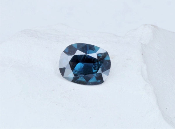Cushion Ceylon Blue Sapphire 2.16ct Precision Cut