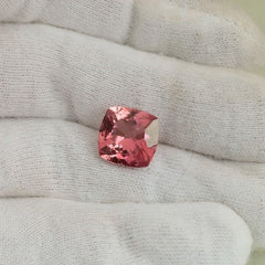 Pink Tourmaline 5.75cts Cushion