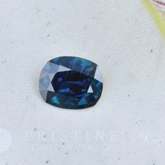 natural loose blue sapphire cushion shape