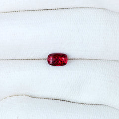 Cushion Shape Red Spinel Natural Loose Gemstone for Fine Jewelry by Rogerio Graca