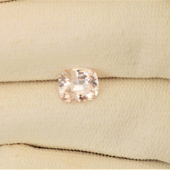 2.5ct cushion pink champagne sapphire
