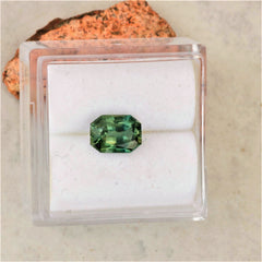 radiant blue green sapphire