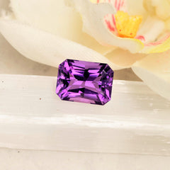 radiant cut amethyst for jewellery