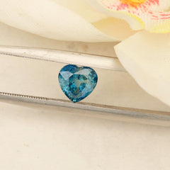 Montana Heart Shape Blue Sapphire 1.64 ct September Birthstone