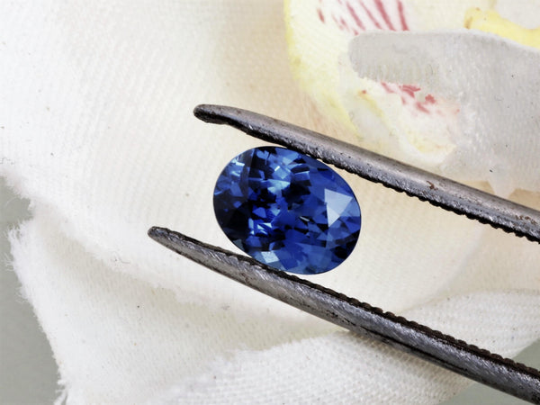 Oval Blue Sapphire 1.48cts