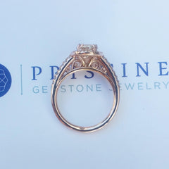 rose gold ring by Pristine Gemstone Jewelry
