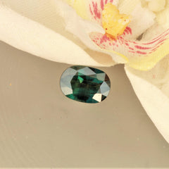large blue green sapphire