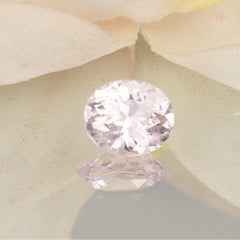 oval petal pink sapphire