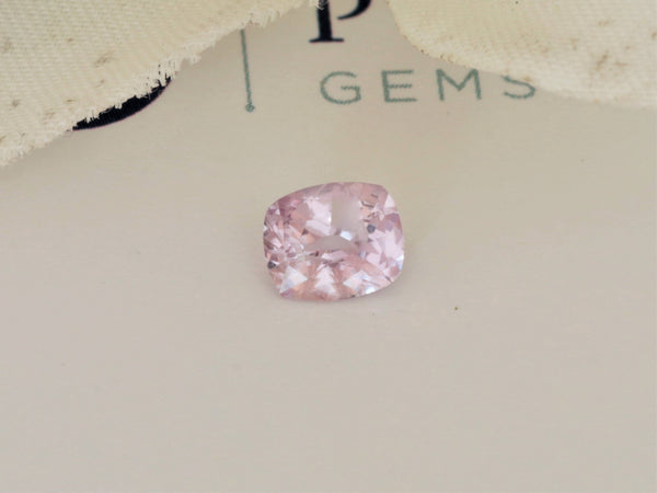 RESERVED Ceylon Cushion Pink Sapphire 0.93 Carat Precision Cut Gemstone