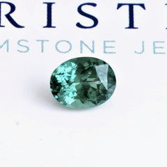 Teal Blue Green Sapphire 1.80cts Oval