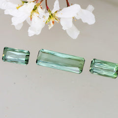 green tourmaline set