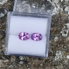 Purple Sapphire Pair 1.59cts Total Weight