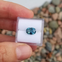 Teal Sapphire Oval 2.52cts