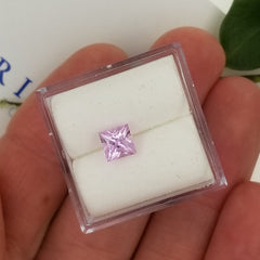 Princess Cut Pink Sapphire 5mm Princess Cut