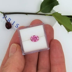 Rose Pink Sapphire 1.15cts Oval