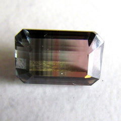 bicolor natural tourmaline for jewelry