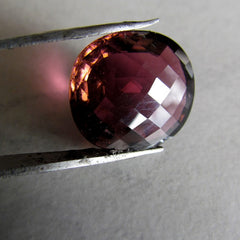 Very Large Pink Tourmaline Checkboard Cut Over 11 cts  October Birthstone Loose Gemstone for Fine Jewelry