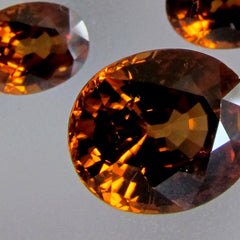 Orange Zircon Set for Fine Jewelry Set Pendant or Ring and Earrings 11.91 cts December Birthstone Loose Gemstone