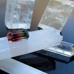 loose natural watermelon tourmaline