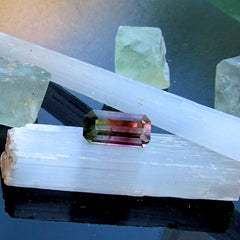 loose natural bicolor tourmaline