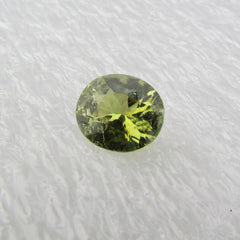 Tourmaline Avocado Color Over 6 Carats Gemstone October Birthstone for Fine Jewelry Ring or Pendant
