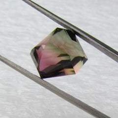 Large Watermelon Tourmaline Bi color Tourmaline Over 8 Carats Fine Quality  Pratically Flawless October Birthsto