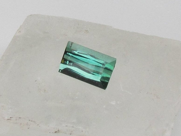 Blue Green Tourmaline 4.11cts October Birthstone
