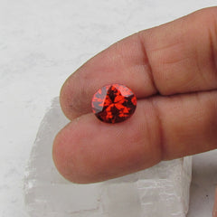 Spessartite Garnet over 4cts Large Loose Gemstone for 14K Gold Jewelry Ring or Pendant January Birthstone