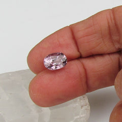 Purple Spinel  Over 4 Carats Sapphire Alternative Fine Loose Gemstone for Engagement Ring Anniversary Ring Morganite Alternative