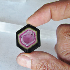 Watermelon Bicolor Tourmaline Over 20 Carats Measuring 30 x 23 MM Fine Quality for Jewelry October Birthstone Pendant