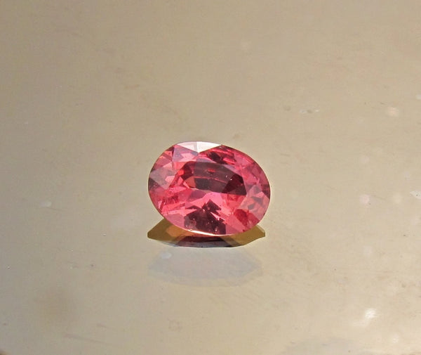 Padparadscha Color Sapphire for Engagement Ring Weddings Anniversary
