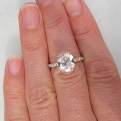 Diamond Accented Engagement Ring Semi Mount