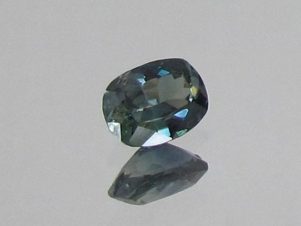 Blue Green Sapphire Cushion Shape 1.16cts
