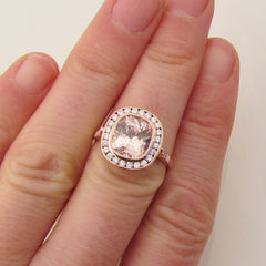 Vintage Inspired Engagement Ring Semi Mount Main Stone Sold Separately